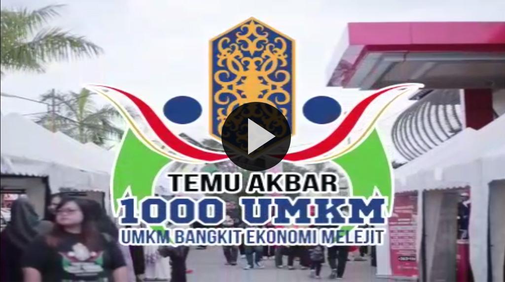 Sukses acara Temu Akbar 1000 UMKM